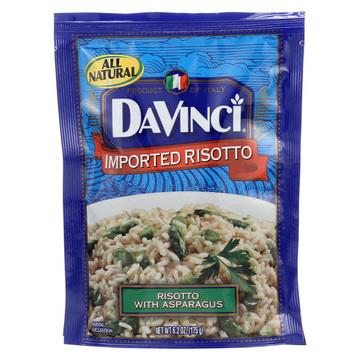 DaVinci Risotto with Asparagus Pasta - Case of 12 - 6.2 oz.