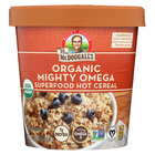Dr. McDougall's Organic Mighty Omega Superfood Hot Cereal Cup - Case of 6 - 2.6 oz.