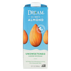 Dream Ultimate Almond Unsweetened Almond Beverage - Case of 6 - 32 FL oz.