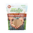 Eco Life Organic Quick Cook Basmati Rice - Brown - Case of 6 - 2 lb.