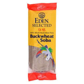 Eden Foods Pasta - Buckwheat Soba - Case of 12 - 8 oz.
