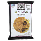 Food Should Taste Good Olive Tortilla Chips - Olive - Case of 12 - 5.5 oz.