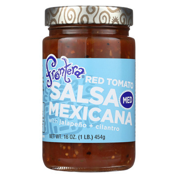 Frontera Foods Salsa Mexicana (Medium) - Salsa Mexicana - Case of 6 - 16 oz.