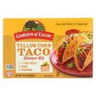 Garden of Eatin' Yellow Corn Taco Dinner Kit - Dinner Kit - Case of 12 - 9.4 oz.
