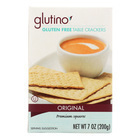 Glutino Table Crackers - Case of 12 - 7 oz.