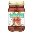 Green Mountain Gringo Medium Salsa - Garlic - Case of 12 - 16 oz.