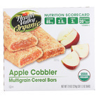 Health Valley Organic Multigrain Cereal Bars - Apple Cobbler - Case of 6 - 7.9 oz.