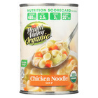 Health Valley Organic Soup - Chicken Noodle No Salt Added - Case of 12 - 15 oz.