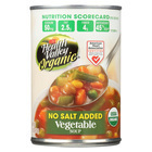 Health Valley Organic Soup - Vegetable, No Salt Added - Case of 12 - 15 oz.
