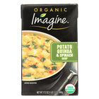 Imagine Foods Spinach Soup - Potato Quinoa - Case of 12 - 17.3 oz.