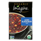Imagine Foods Savory Soup - Black Bean - Case of 12 - 17.3 oz.