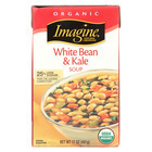 Imagine Foods Soup - Tuscan White Bean And Kale - Case of 12 - 17 oz.
