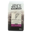 Jim's Organic Coffee - Whole Bean - Jo-Jo's Java - Case of 6 - 12 oz.