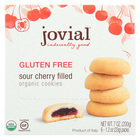 Jovial - Gluten Free Cookies - Sour Cherry - Case of 10 - 7 oz.