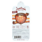 Justin's Nut Butter Snack Pack - Chocolate Hazelnut Butter with Pretzels - Case of 6 - 1.3 oz.