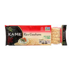 Ka'Me Rice Crackers - Sesame - Case of 12 - 3.5 oz.