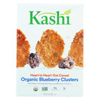 Kashi Heart To Heart Oat Flakes and Blueberry Clusters - Case of 10 - 13.4 oz.