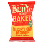 Kettle Brand Baked Potato Chips - Baked Hickory Honey Barbeque - Case of 15 - 4 oz.