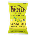 Kettle Brand Potato Chips - Pepperoncini - Case of 15 - 5 oz.