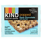 Kind Popped Dark Chocolate - Sea Salt - Case of 8 - 1.2 oz.
