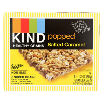 Kind Popped Salted Caramel - Case of 8 - 1.2 oz.