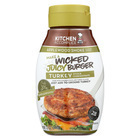 Kitchen Accomplice Wicked Juicy Burger Turkey - Applewood - Case of 6 - 12 Fl oz.
