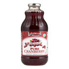 Lakewood Juice - Pure Cranberry - Case of 12 - 32 Fl oz.