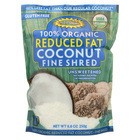 Let's Do Organics Organic Lite Shredded - Coconut - Case of 12 - 8.8 oz.
