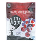 Little Secrets Dark Chocolate Candies - Raspberry - Case of 8 - 5 oz.