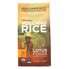 Lotus Foods Organic Volcano Rice - Case of 6 - 15 oz.