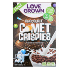 Love Grown Foods Chocolate Comet Crispies - Case of 6 - 9.5 oz.