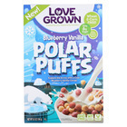 Love Grown Foods Blueberry Vanilla Polar Puffs - Case of 6 - 6.5 oz.