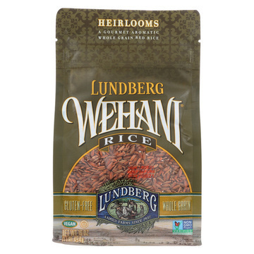 Lundberg Family Farms Wehani Whole Grain Brown Rice - Case of 6 - 1 lb.