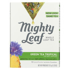 Mighty Leaf Tea Green Tea - Tropical - Case of 6 - 15 Bags