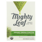 Mighty Leaf Tea Green Tea - Organic Matcha - Case of 6 - 12 Count