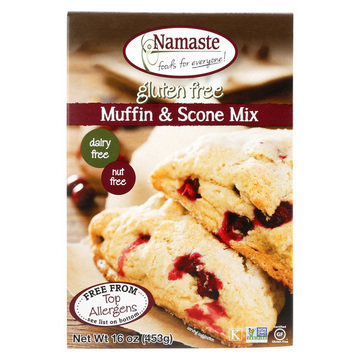 Namaste Foods Gluten Free Muffin - Mix - Case of 6 - 16 oz.