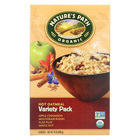 Nature's Path Organic Hot Oatmeal - Variety Pack - Case of 6 - 14 oz.