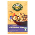 Nature's Path Organic Flax Plus Cereal - Pumpkin Raisin Crunch - Case of 12 - 12.35 oz.