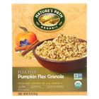 Nature's Path Organic Flax Plus Granola - Pumpkin - Case of 12 - 11.5 oz.