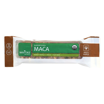 Navitas Naturals Superfood Bar - Maca Maple - Case of 12 - 1.4 oz.