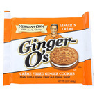 Newman's Own Organics Creme Filled Cookies - Ginger - Case of 6 - 13 oz.