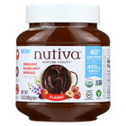 Nutiva Organic Hazelnut Spreads - Chocolate - Case of 6 - 13 oz.