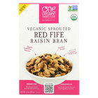 One Degree Organic Foods Sprouted Red Fife Raisin Bran - Case of 6 - 11 oz.
