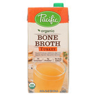 Pacific Natural Foods Bone Broth - Turkey - Case of 12 - 32 Fl oz.