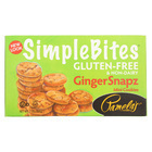 Pamela's Products Snaps Simple bites Mini Cookies - Ginger - Case of 6 - 7 oz.
