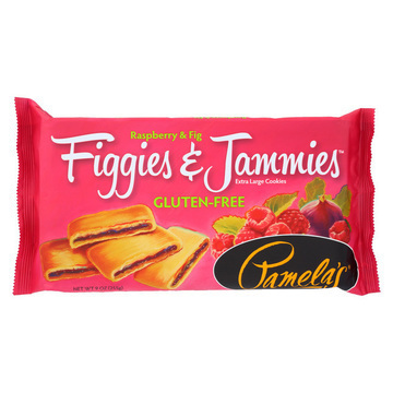 Pamela's Products - Figgies and Jammies - Raspberry - Case of 6 - 9 oz.