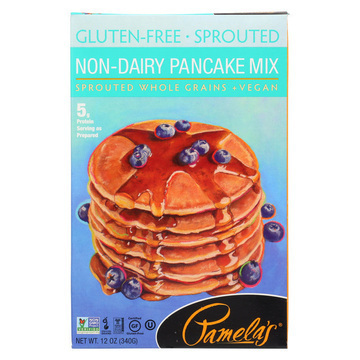 Pamela's Products - Sprouted Pancake Mix - Case of 6 - 12 oz.