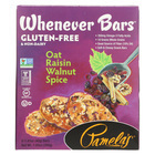 Pamela's Products - Oat Spice Whenever Bars - Raisin Walnut - Case of 6 - 1.41 oz.