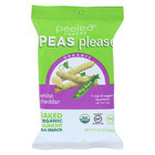 Peeled Peas Please - White Cheddar - Case of 12 - 3.3 oz.