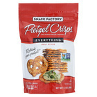 Pretzel Crisp Pretzel Crisps - Everything - Case of 12 - 7.2 oz.